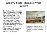 junior officers impact of west pointers20