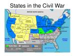 states in the civil war