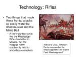 technology rifles