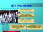 hsp organization