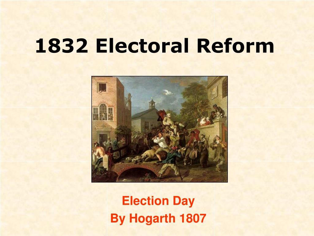 1832 electoral reform l.