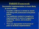 parihs framework