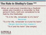the rule in shelley s case