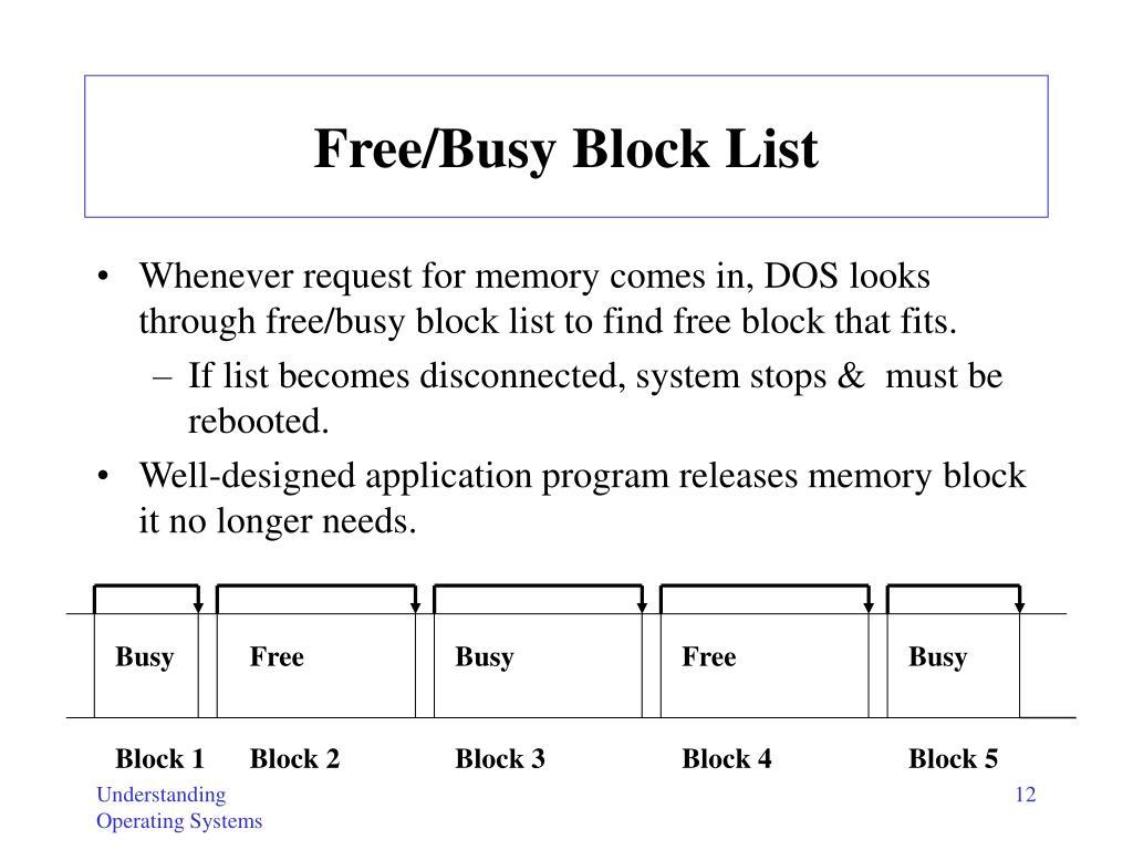 Busy    FreeBusyFreeBusy