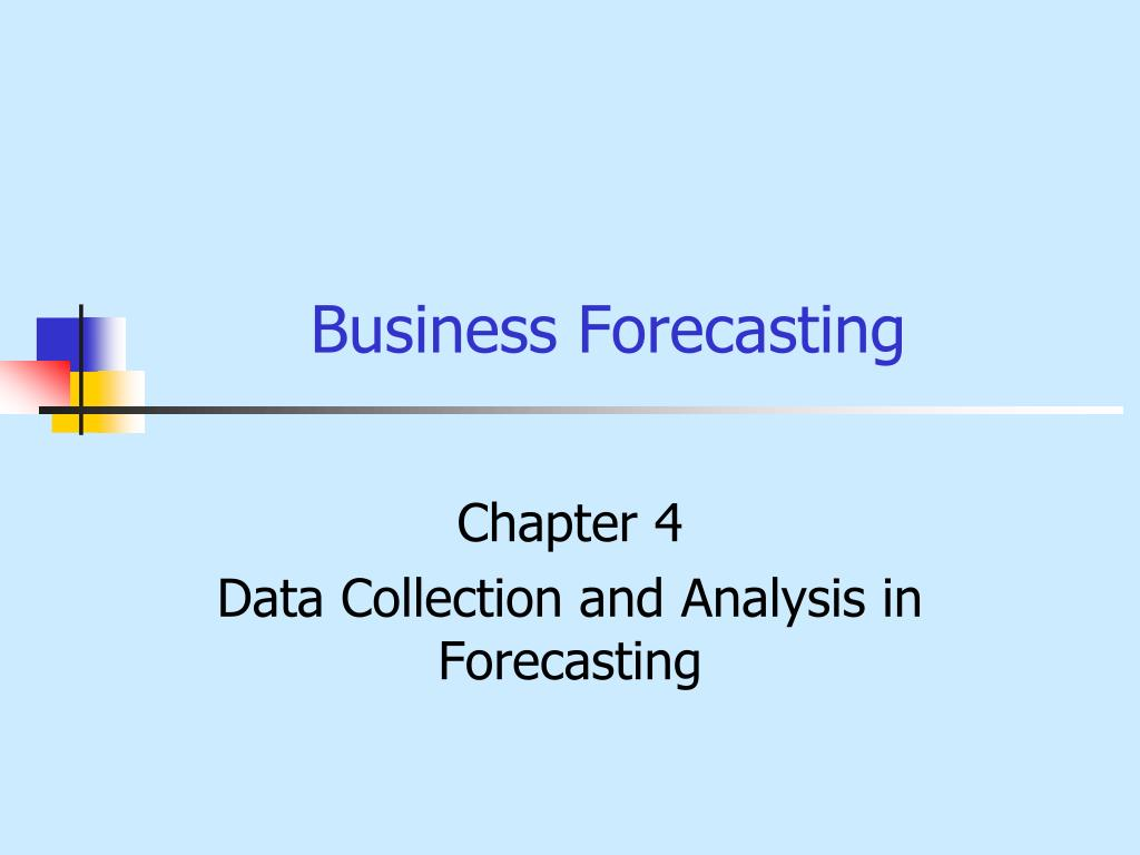 business forecasting l.