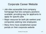 corporate career website