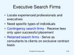 executive search firms
