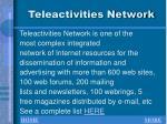 teleactivities network