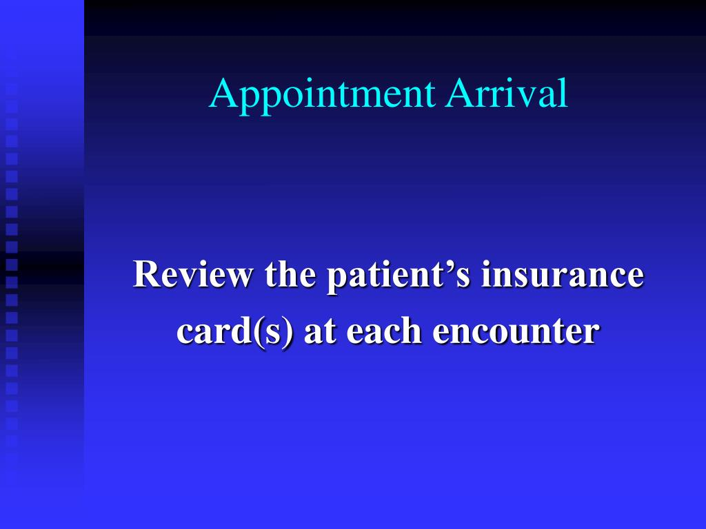 Appointment Arrival