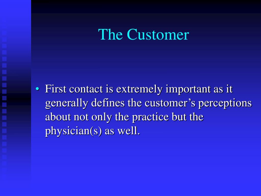 The Customer