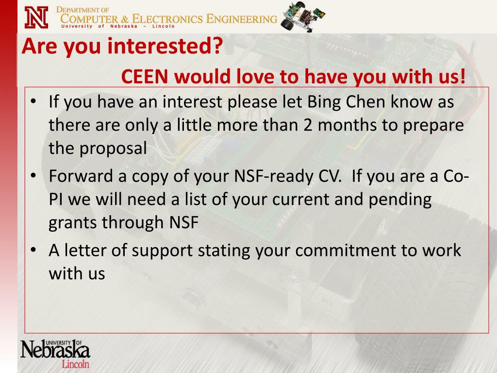 Are you interested?