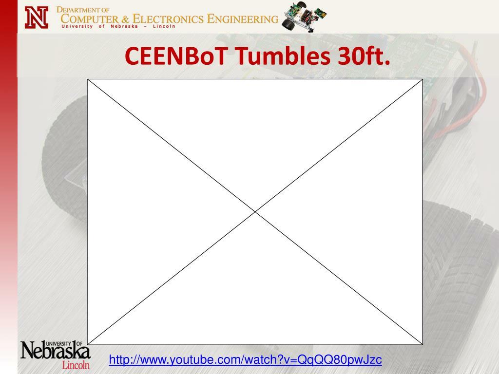 CEENBoT Tumbles 30ft.