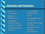 concepts and principles