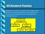 ics resource planning25