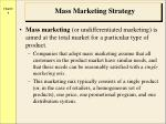 mass marketing strategy