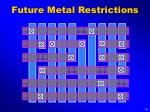 future metal restrictions