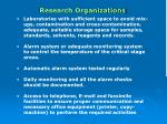 research organizations26