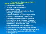 research organizations28