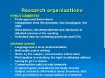 research organizations32