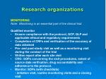 research organizations33