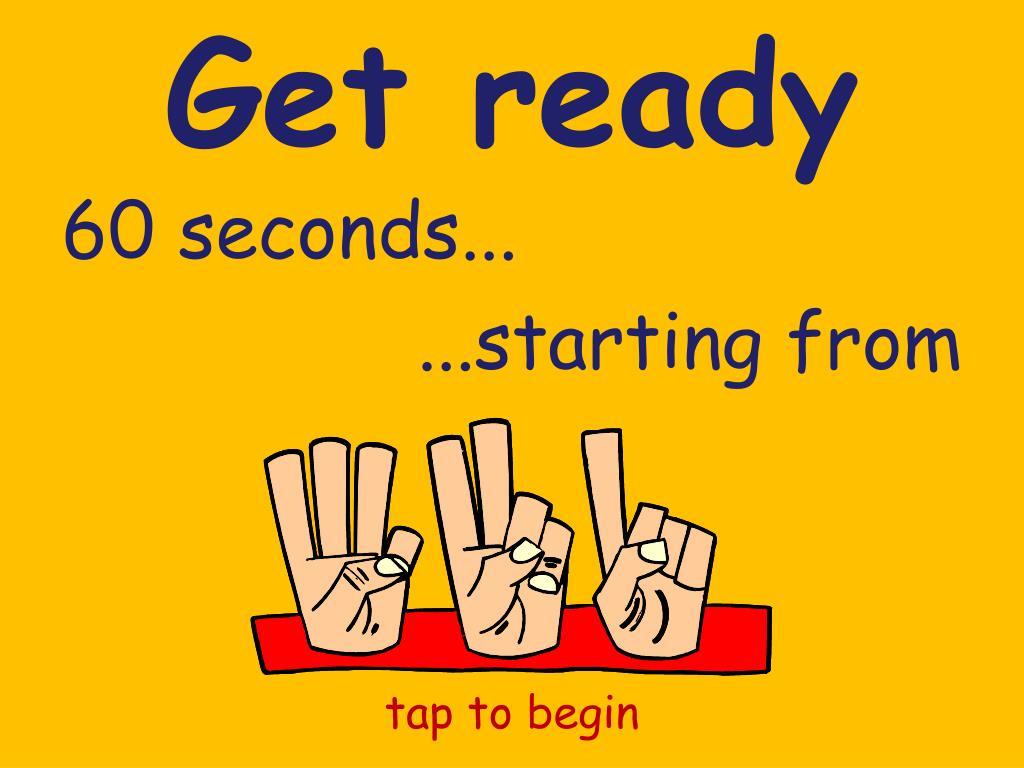 get ready l.