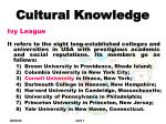 cultural knowledge6