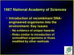 1987 national academy of sciences