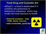 food drug and cosmetic act10