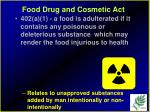 food drug and cosmetic act11