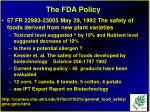 the fda policy30