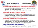 the 3 day frc competition