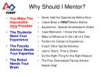 why should i mentor
