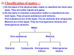 1 classification of matter