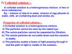 5 colloidal solution