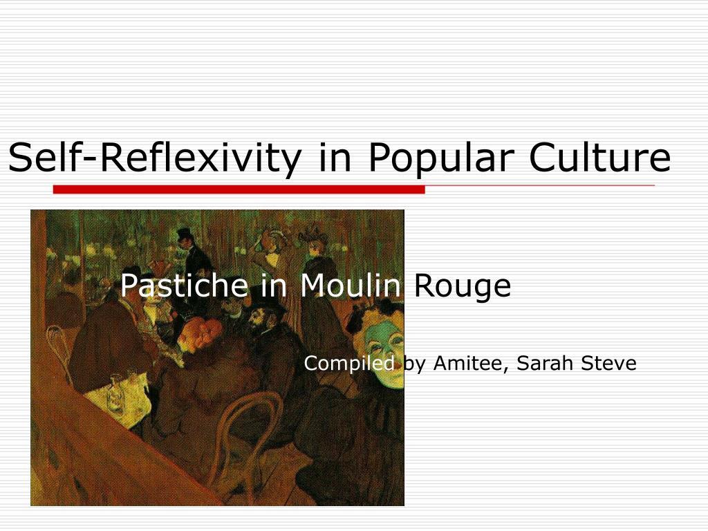 self reflexivity in popular culture l.