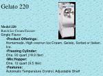 gelato 220