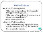 kirchhoff s laws