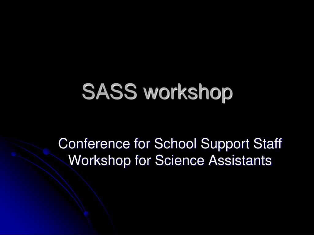 sass workshop l.