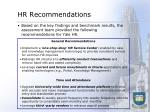 hr recommendations