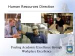 human resources direction