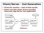 client server 2nd generation8