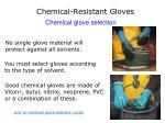 chemical resistant gloves32