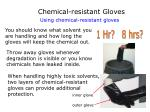 chemical resistant gloves33