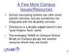 a few more campus issues resources