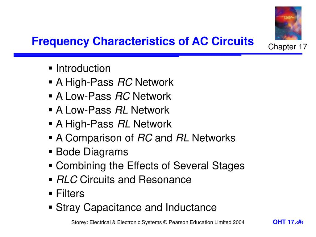 frequency characteristics of ac circuits l.