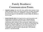 family readiness communication points21