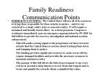 family readiness communication points27