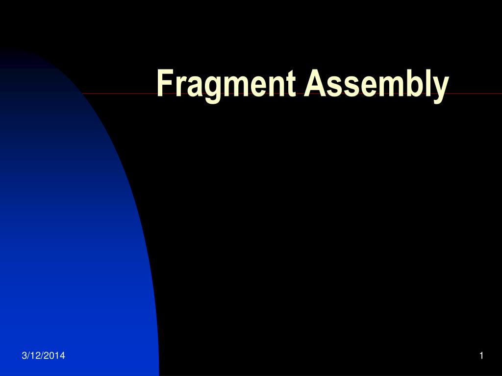 fragment assembly l.