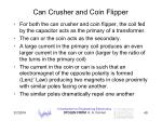 can crusher and coin flipper40