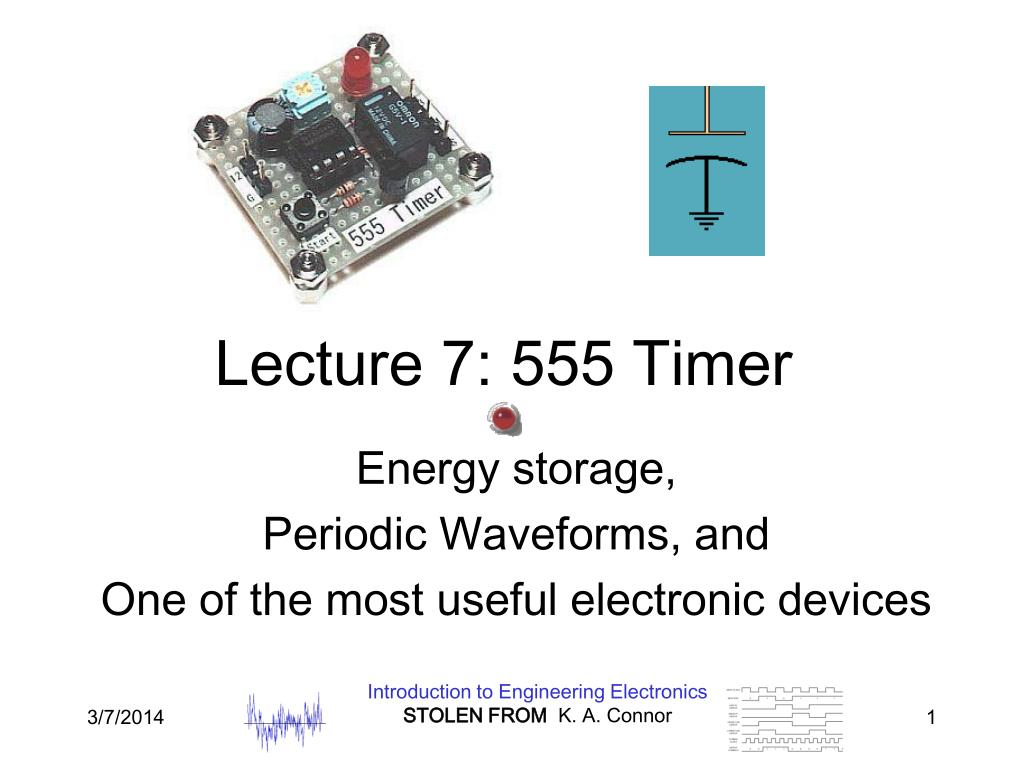lecture 7 555 timer l.